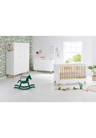 Pinolino® Babyzimmer-Komplettset »Pan«, (Set, 3 St.), extrabreit groß; mit Kinderbett,... kaufen