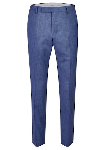 Daniel Hechter Edle Anzug-Hose mit elegantem minimal Karo kaufen