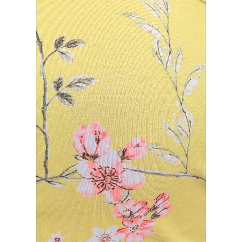 Sunseeker Bügel-Bandeau-Bikini-Top »Ditsy«, mit Häkelkante