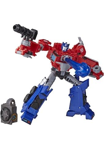 "Hasbro Actionfigur ""Transformers Cyberverse Deluxe - Klasse  -  Optimus Prime"" kaufen"