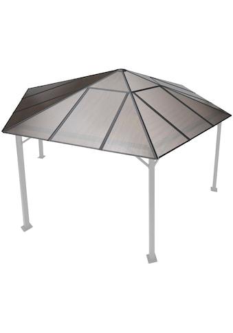 KONIFERA Pavillonersatzdach »Costa Brava«, für 350x350 cm, braun kaufen