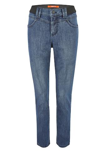 ANGELS Dehnbund-Jeans, 'One Size Authentic' mit unifarbenem Stoff kaufen