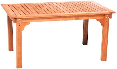 MERXX Gartentisch, ausziehbar, BxT: 150/185/220 x 90 cm kaufen