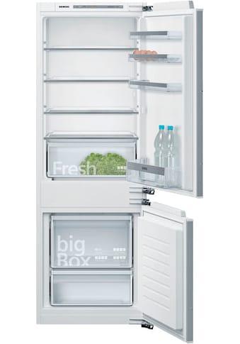 SIEMENS Einbaukühlgefrierkombination »KI77VVFF0«, iQ300 kaufen