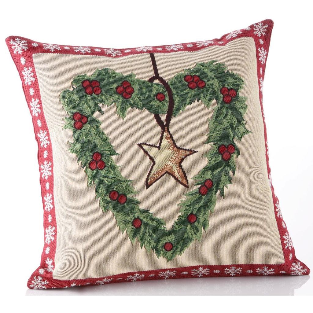 Dreams Kissenhülle »Weihnachtszeit«, (2 St.)