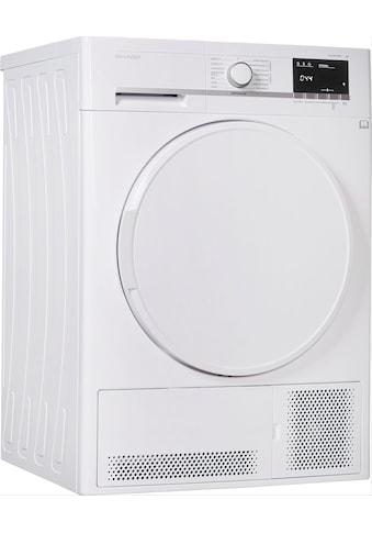 Sharp Kondenstrockner KD - GCB7S7PW9 - DE, 7 kg kaufen