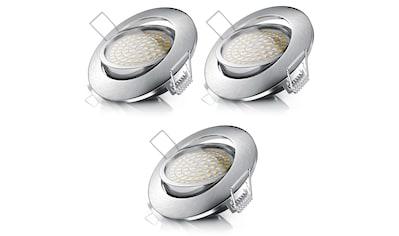 Brandson dimm -  und schwenkbarer LED Einbaustrahler »Deckenspot mit Aluminium Rahmen / Warmweiß« kaufen