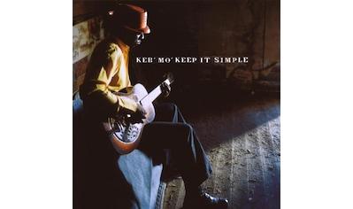Musik-CD »Keep It Simple / Keb' Mo'« kaufen