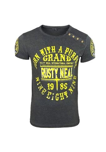 Rusty Neal T-Shirt mit Label-Print kaufen