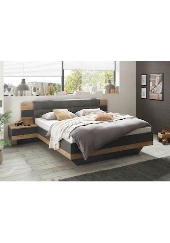 Schlafkontor Bettgestell »Linea«, inkl. 2 Nachttische kaufen