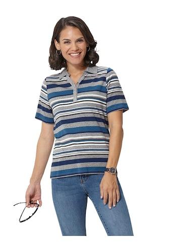 Casual Looks  Poloshirt im fröhlichen Ringelmuster kaufen