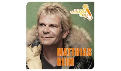 Musik-CD »Ich Find' Schlager Toll / Reim,Matthias« kaufen