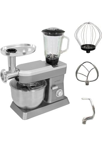Gutfels Küchenmaschine KM 8101 si, 1200 Watt, Schüssel 6,2 Liter kaufen