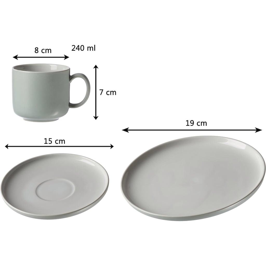 """Ritzenhoff & Breker Kaffeeservice """"Jasper"""" (12-tlg.), Steinzeug"""
