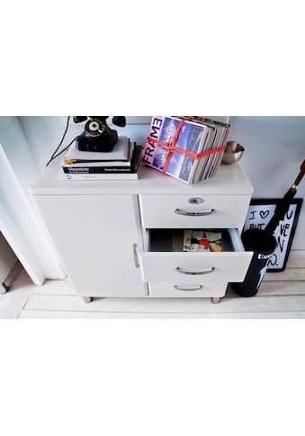 Tenzo Kommode »Malibu«, mit 1 Tür & 4 Schubladen, Design von Rutger Anderson kaufen