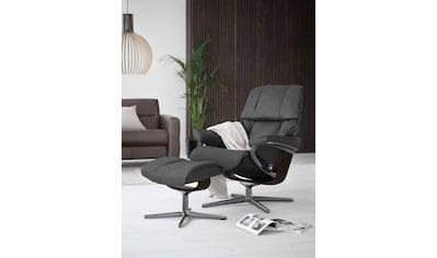Stressless® Relaxsessel »Reno«, mit Cross Base, Größe S, M & L, Gestell Braun kaufen