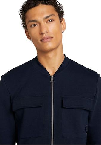 TOM TAILOR Denim Sweatjacke, mit Brusttaschen kaufen