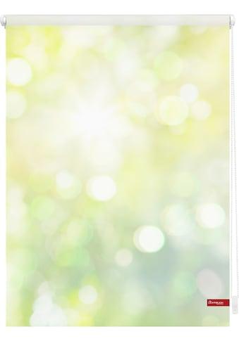LICHTBLICK ORIGINAL Seitenzugrollo »Klemmfix Motiv Lichtspiel«, Lichtschutz, ohne... kaufen