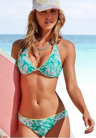 Venice Beach Bügel-Bikini, mit kontrastfarbener Häkelkante kaufen