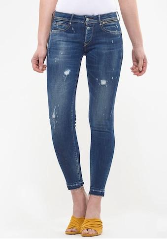 Le Temps Des Cerises Ankle-Jeans »PULPC CEIBA«, mit Reißverschlusstaschen vorne kaufen