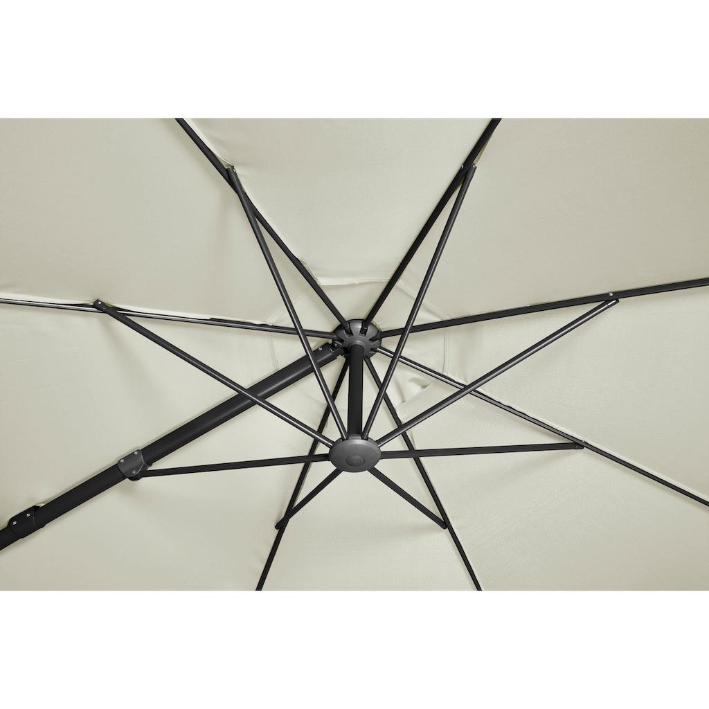 garten gut Ampelschirm »Marbella«, abknickbar, mit Schirmstände