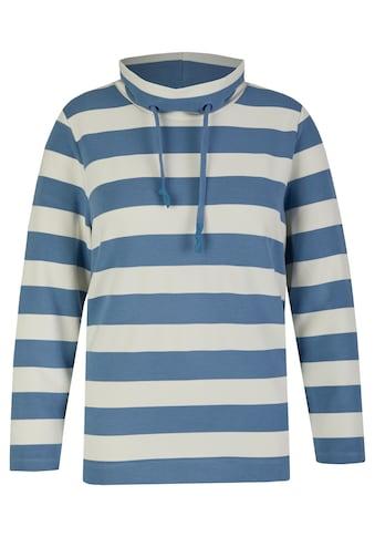 VIA APPIA DUE Sweatshirt, mit Stehkragen kaufen