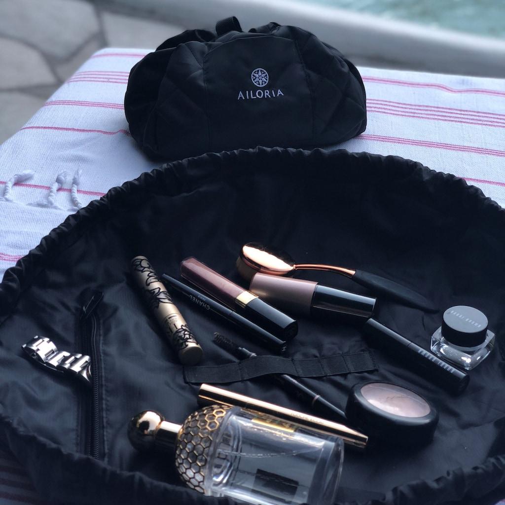 AILORIA Kosmetiktasche »ON THE GO«, Make-Up-Utensilien aufgeräumt in Sekunden