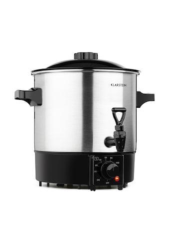 Klarstein Einkochautomat & Getränkespender 1000 W 30-100 °C Zapfhahn 9l kaufen