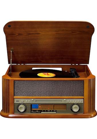 Lenco Plattenspieler »TCD-2550«, Schallplattendigitalisierer-MP3-Konvertierung-UKW-Radio kaufen