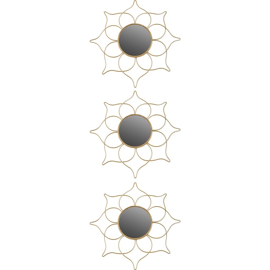 Myflair Möbel & Accessoires Spiegel, (Set, 3 St.), Spitzen