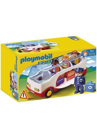 Playmobil® Konstruktions-Spielset »Reisebus (6773), Playmobil 1-2-3«, Made in Europe kaufen