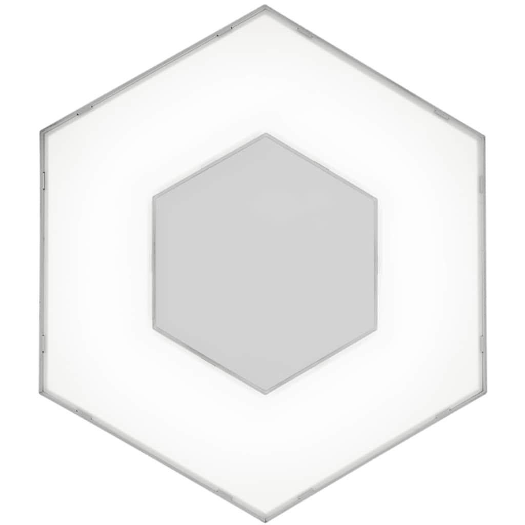 TRIO Leuchten LED Deckenleuchte »SOLITAIRE«, LED-Board, 1 St., Warmweiß, Erweiterungsmodul nur in Verbindung mit Basismodell Art.-Nr. 73713753 verwendbar, als Wand- und Deckenleuchte einsetzbar