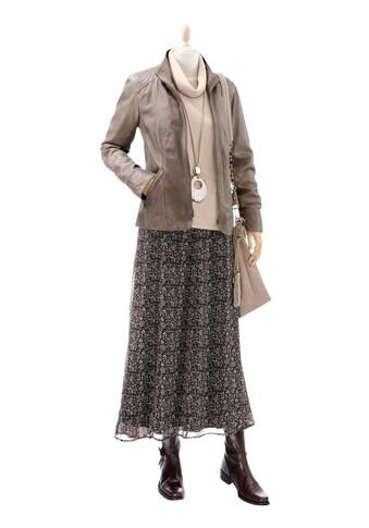 Inspirationen Lamm - Nappa - Jacke in dezenter Used - Optik kaufen