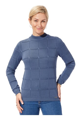 Casual Looks Pullover im lässigen Strickmuster - Mix kaufen