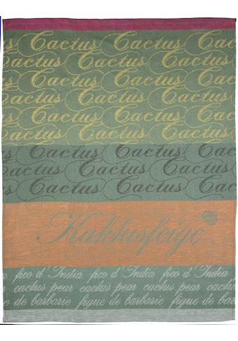 stuco Geschirrtuch »Kaktus«, (Set, 3 tlg.), Jacquardgewebe kaufen