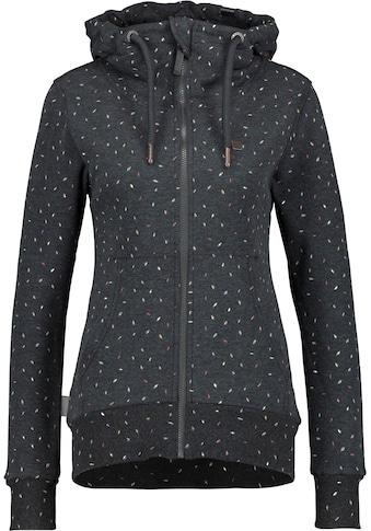 Alife & Kickin Sweatshirt »YasminAK B«, Sweatjacke mit Alloverprint& Kapuze kaufen