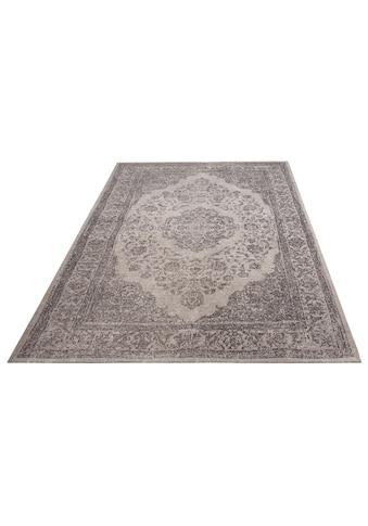 DELAVITA Teppich »Sedat«, rechteckig, 8 mm Höhe, Flachgewebe, Vintage-Optik, Wohnzimmer kaufen