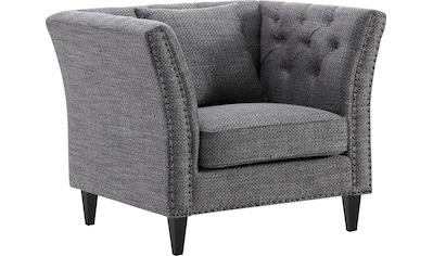 ATLANTIC home collection Sessel, Chesterfield Armlehnensessel, extra weich und... kaufen