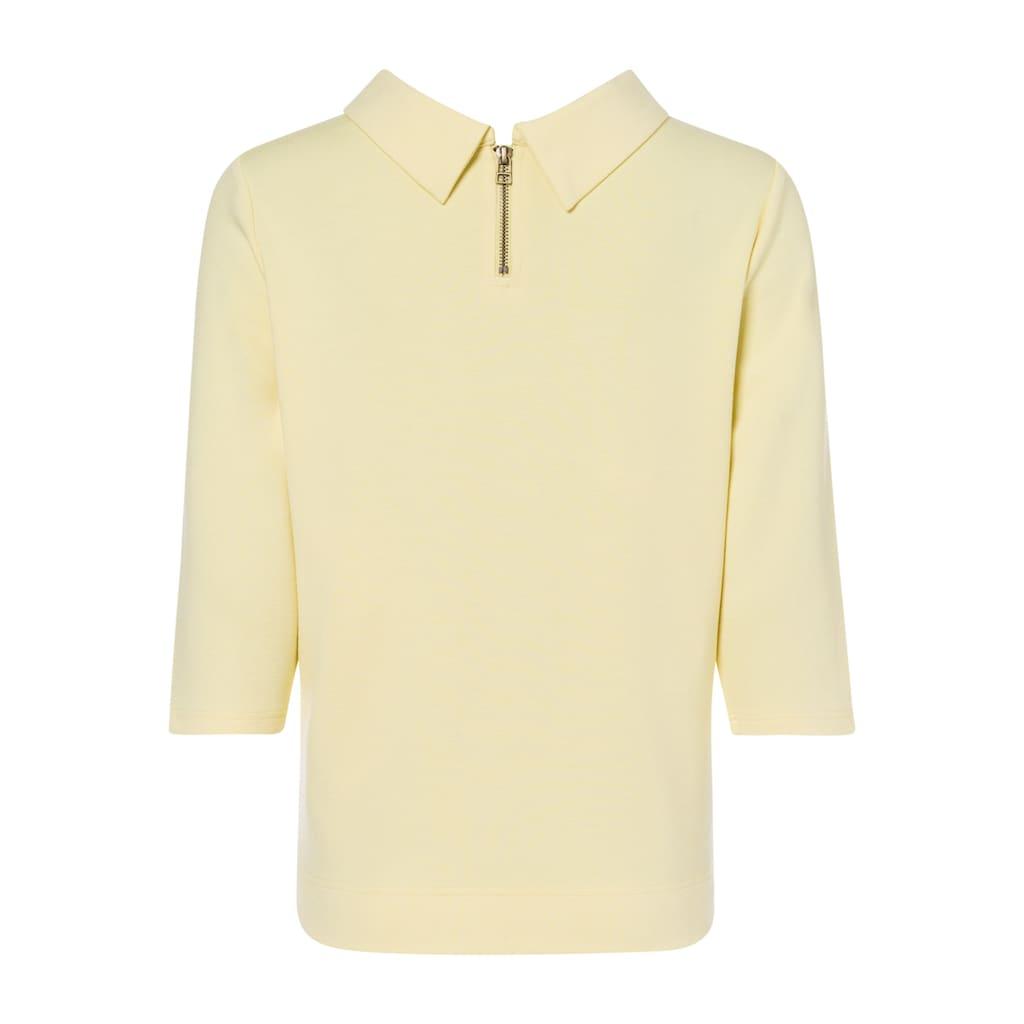 Olsen Sweatshirt, mit umgeschlagenem Kragen