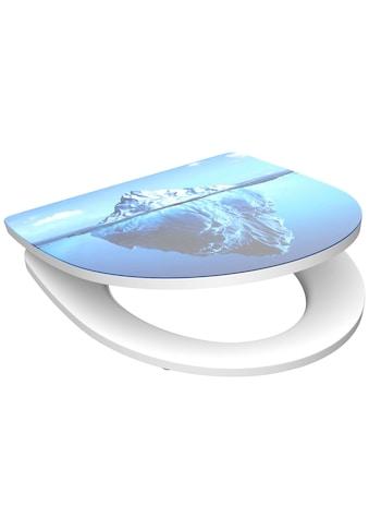 Schütte WC-Sitz »Iceberg«, aus Duroplast mit Absenkautomatik kaufen