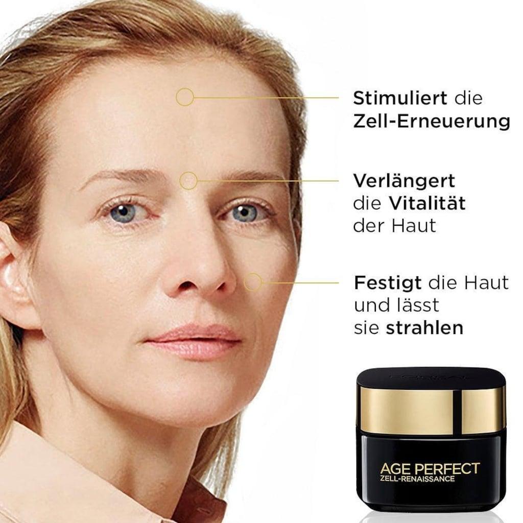 L'ORÉAL PARIS Gesichtspflege-Set »Age Perfect Zell-Renaissance Tag- und Nacht«, (2 tlg.), mit Aminosäuren und Vitamin B