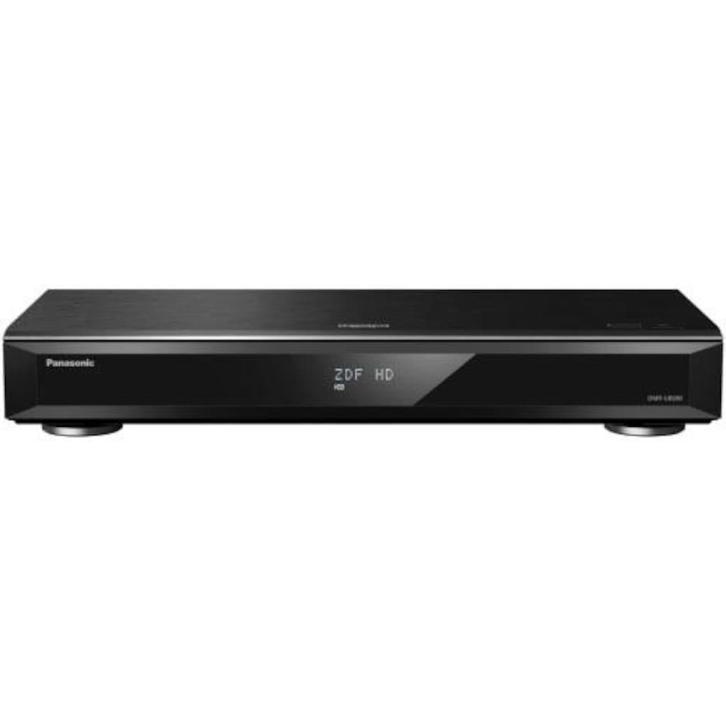 Panasonic Blu-ray-Rekorder »DMR-UBS90«, 4k Ultra HD, LAN (Ethernet)-WLAN, 3D-fähig-Hi-Res Audio-DVB-S/S2 Tuner, 3D-fähig