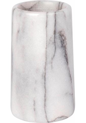 WENKO Zahnputzbecher »Onyx«, Steinoptik kaufen