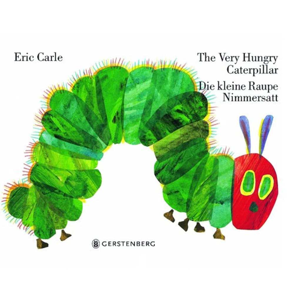 Buch »The Very Hungry Caterpillar - Die kleine Raupe Nimmersatt / Eric Carle, Viktor Christen«