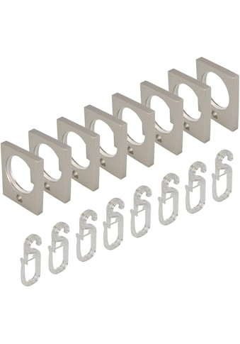 Liedeco Gardinenring, eckig, für Gardinenstangen Ø 16 mm kaufen