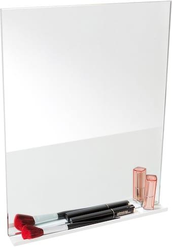 Müller SMALL LIVING Wandspiegel »FLAI Spiegel mit Ablage«, geeignet für Kanten mit 18... kaufen