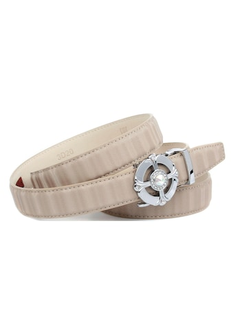 Anthoni Crown Ledergürtel, Gürtel aus innovativem Leder in schmaler Form kaufen