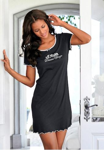 s.Oliver Nachthemd, mit Rundhalsausschnitt kaufen
