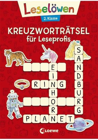 Buch »Leselöwen Kreuzworträtsel für Leseprofis - 2. Klasse (Rot) / Katrin Merle« kaufen