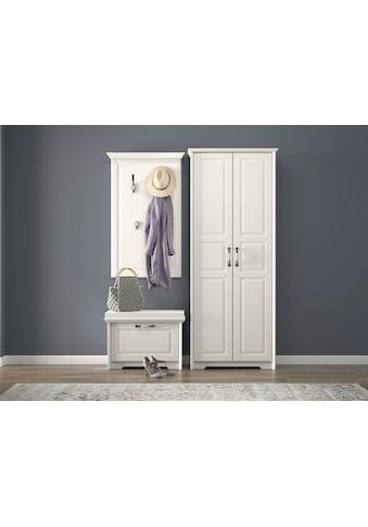 Home affaire Garderobenschrank »Evergreen«, hochwertig UV lackiert, mit... kaufen
